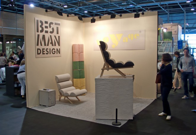 The première in Paris at the Maison et Objet of September 2015